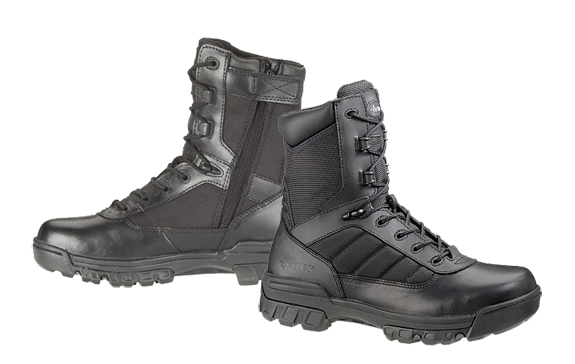 "Bates Enforcer Ultra-Lites 8"" Tactical Side Zip Boot 2261"