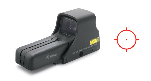 EOTech 512 TACTICAL STD AA BTTRY